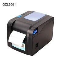 Термопринтер для печати этикеток USB 80 мм Термопринтер для печати чеков штрих-кодов 80 мм ширина печати для POS логистических ювелирных изделий...