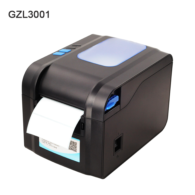 Thermal Label Printer USB 80mm Thermal Transfer Printer Receipt Barcode Printer 80mm Print Width For POS Logistic Jewlery Retail