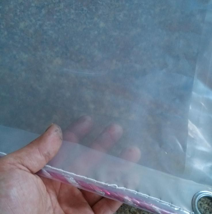 Customize 2 Layer 3mX2m Translucent Outdoor Plastic Cover, Greenhouse Trap.60% Transparent Rain Tarpaulin.waterproof Cloth.