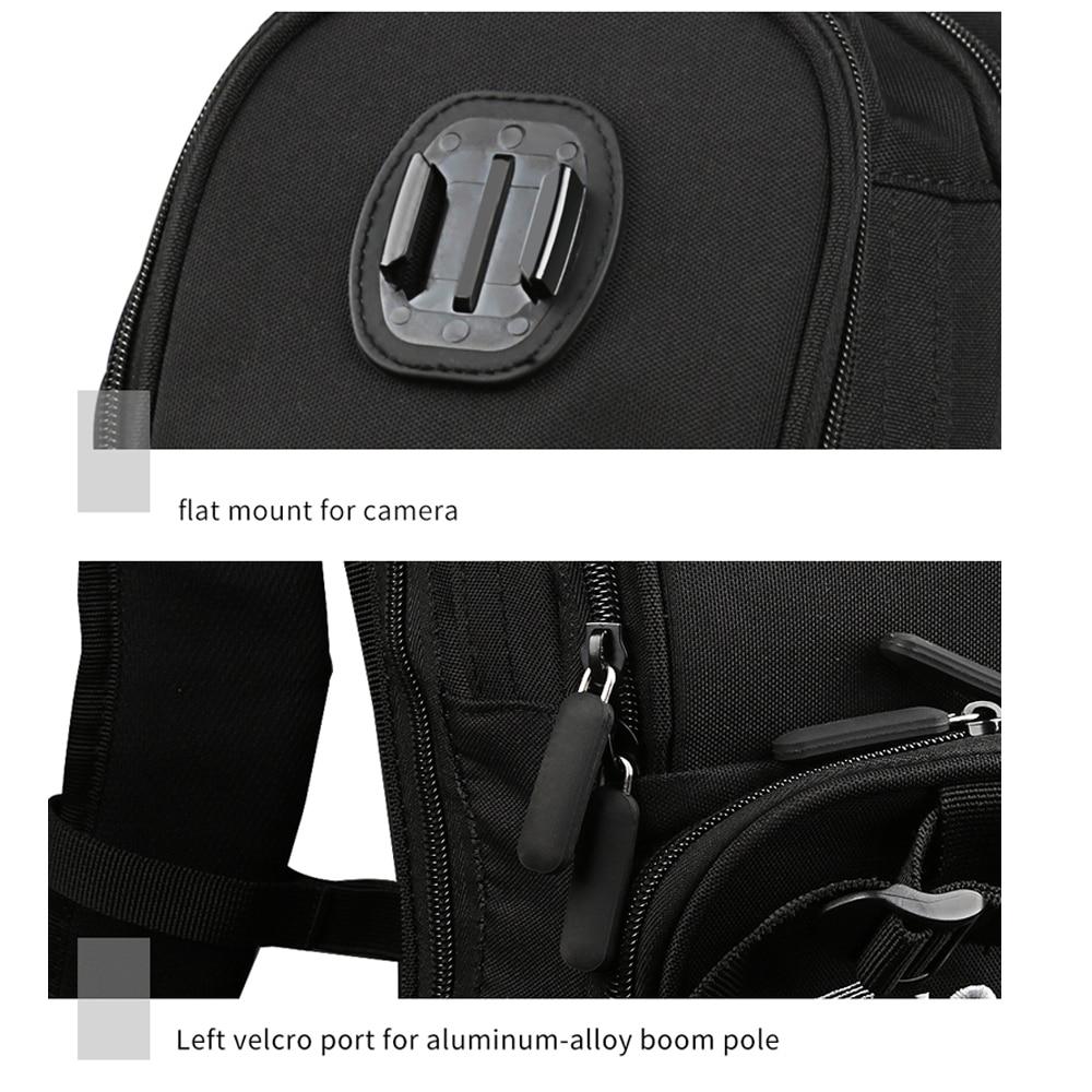 SHOOT moto vélo Selfie sac à dos sac de voyage pour GoPro Hero 7 6 5 Session Yi 4 K Sjcam Sj4000 H9r Action caméra sac à dos - 4