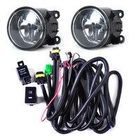 Beler Kabelboom Sockets Schakelaar + 2x H11 Mistlampen Lamp 4F9Z-15200-AA Kit voor Ford Focus Mustang Honda CR-V Nissan Sentra