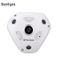 SunEyes SP-JV902W 960 P 1.3MP Kamera IP HD Wireless VR 360 Stopni z Micro SD Slot Obsługuje Tryb AP Punkt Dostępowy Dwukierunkowy Audio