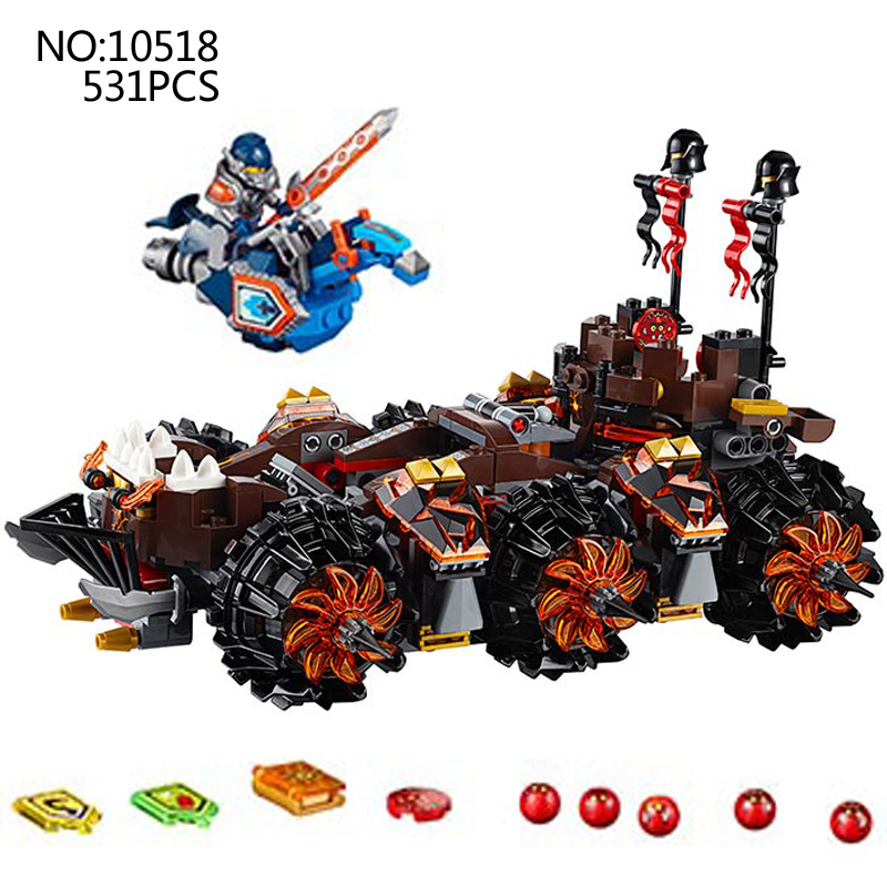 10518 8017 Nexus Knights Siege Machine Model building kits compatible with leping 14018 city 3D blocks Educational children toys lepin 14018 8017 nexus knights siege machine model building kits compatible with lego city 3d blocks educational children toys