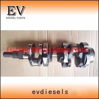 Steel D905 crankshaft for Kubota engine tractor D905
