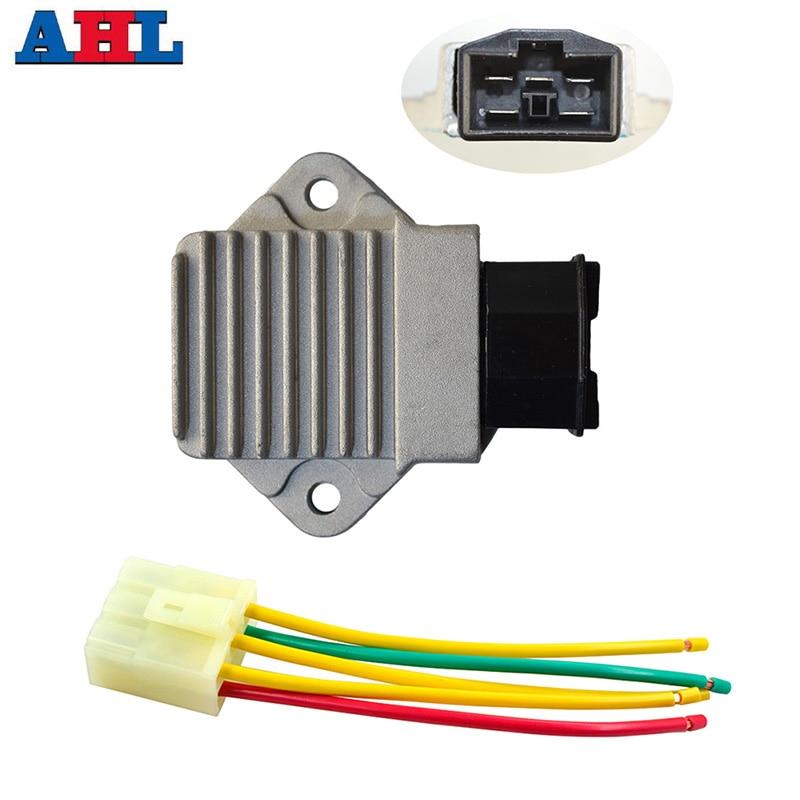 Motorrad Spannungsregler Gleichrichter Stecker Leitungskopf für - Motorradzubehör und Teile