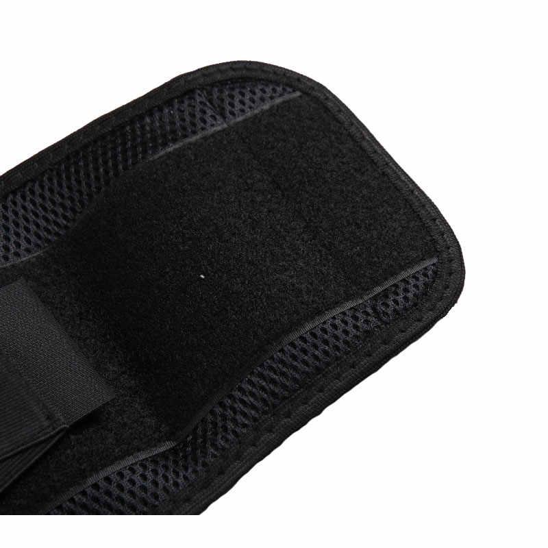 Новый роскошный ортопедический черный Поясничный Бандаж дышащая поддержка для поясницы и спины фитнес спортивный защитный пояс для поддержки поясничного отдела позвоночника Бесплатная доставка