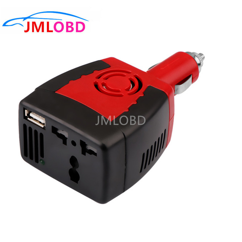 2018 Inverter 150W DC 12V to AC 220V Auto Power Inverter Car Voltage Converter Adapter Adaptor with USB Car Charger