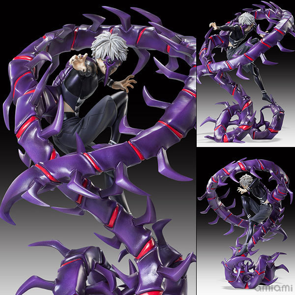 NEW Hot 28cm Kaneki Ken Tokyo Ghoul Generation Of Dark Jin Muyan Action Figure Toys Collection NO BOX Christmas Gift