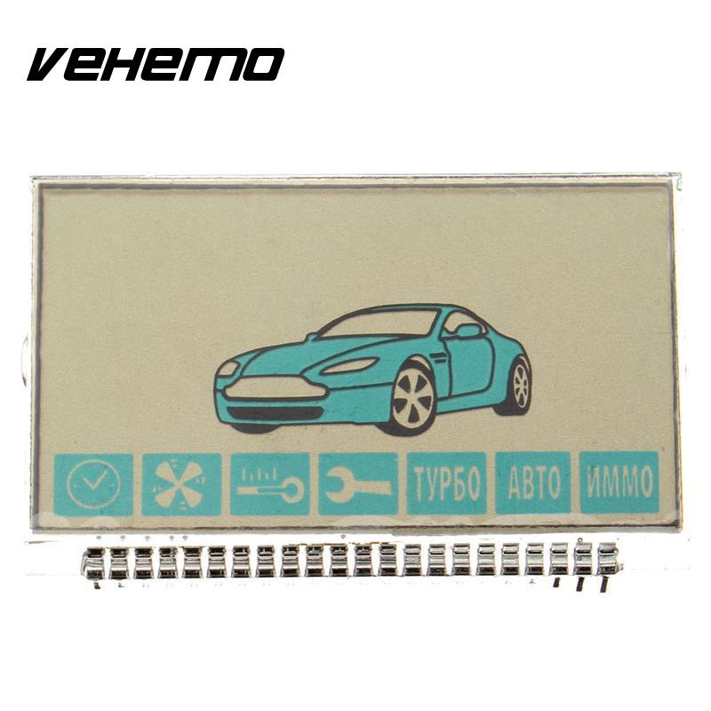 Vehemo Russia Version Anti Theft System A91 LCD Display Flexible Cable For Starline A91 Lcd Remote Two Way Car Alarm System