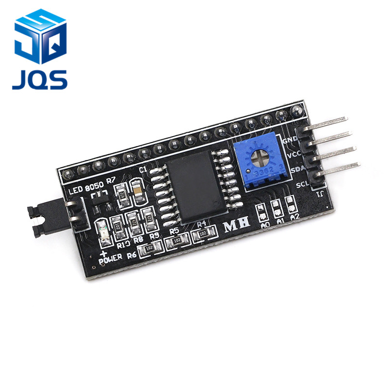 Free Shipping IIC/I2C / Interface LCD1602 2004 LCD Adapter Plate For Arduino