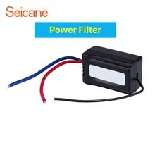 Seicane авто Питание аудио адаптер шум помех блок питания фильтр устраняет динамик шум
