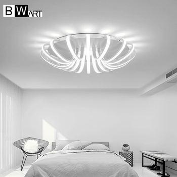 BWART White High Power LED Ceiling chandelier For Living Room Bedroom Home  Modern Led Chandelier Lamp Fixture