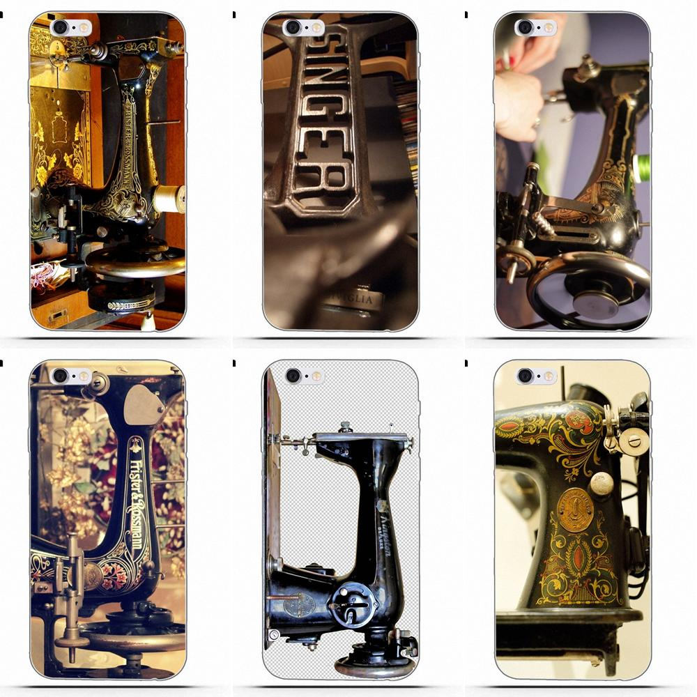 Perciron Sewing Machine TPU Mobile For LG G2 G3 G4 G5 G6 G7 K4 K7 K8 K10 K12 K40 Mini Plus Stylus ThinQ 2016 2017 2018 image
