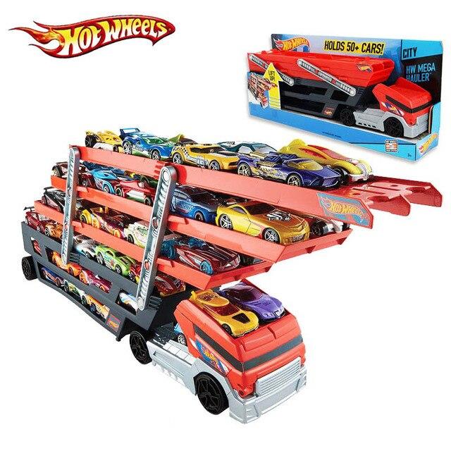 meilleur qualit hotwheels camion lourd ckc09 jouet voiture tenir camion garons enfants hot wheels cadeau jouets - Voitures Hot Wheels