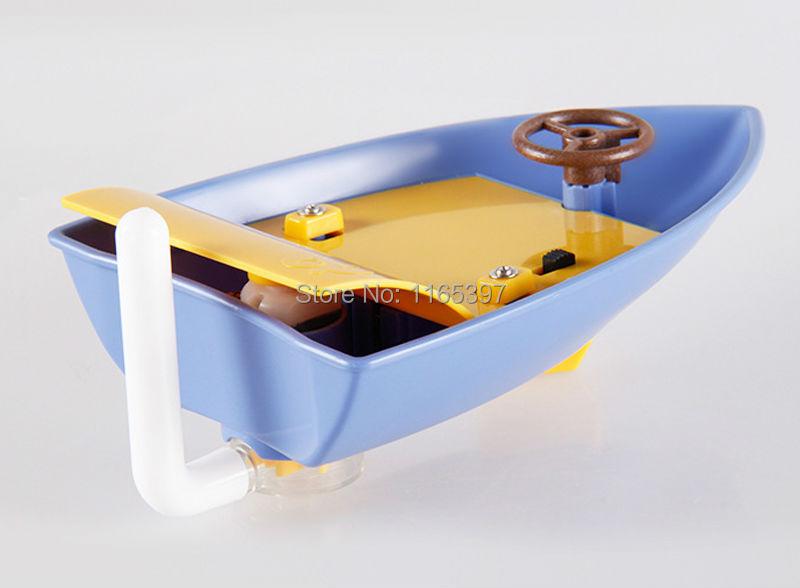 Modèles éducatifs pour enfants, enfants, la science des enfants, modèles expérimentaux, matériaux de jouets, magic jetboat