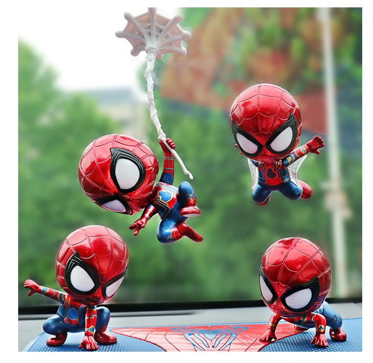 Homecoming Cosbaby Toy Figure For Car Decoration Hot Toys Bobble-head Spider-man Toys & Hobbies