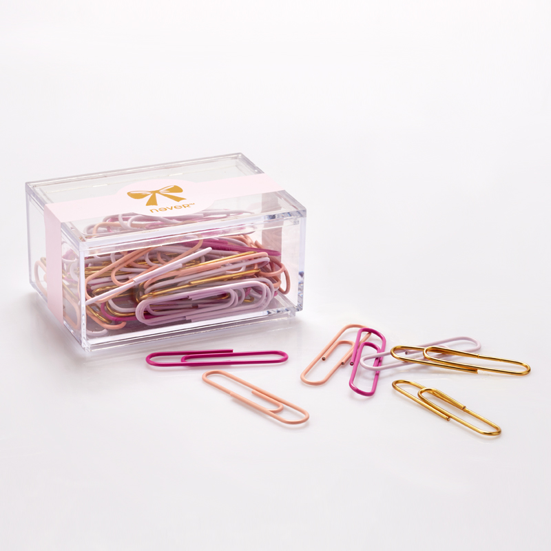 Free shipping 28mm/200pcs 50mm/70pcs mixed color clips durable designed paper clips cute bookmarks 200pcs mixed botany