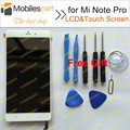 Tela de lcd para xiaomi mi note pro + display touch montagem digitador da tela de substituição de alta qualidade para xiaomi mi note pro