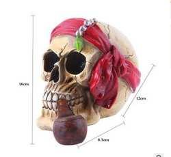 Смола череп элементы с личность украшения дома Хэллоуин подарки декоративные бытовые головы culpture статуя