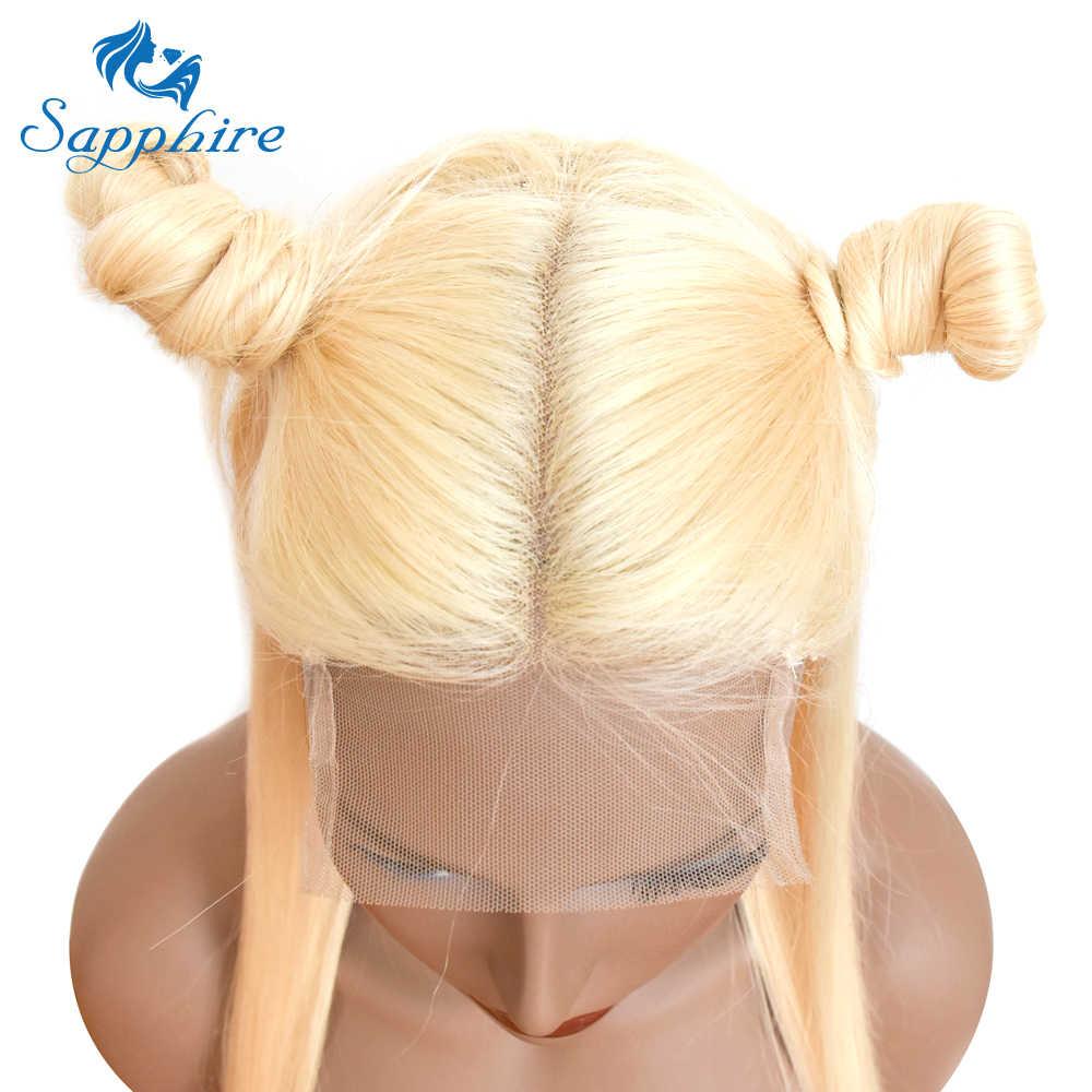 Sapphire 613, парики из натуральных волос на кружеве, бразильские волосы remy, парик с предварительно выщипанные волосы, отбеленные узлы, бесплатная доставка