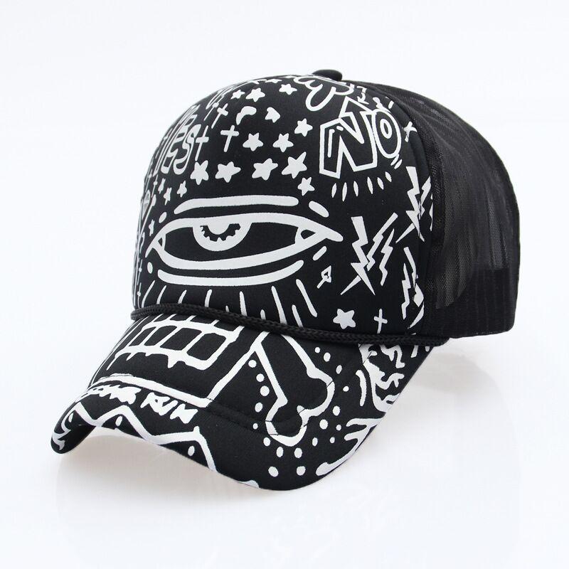 black trucker hat QQ20170809205954