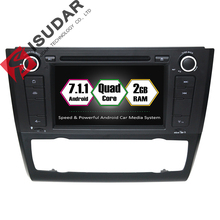 Großverkauf! 7 Zoll Android 7.1.1 Auto DVD-Player Für BMW E81/E82/E88 1 Serie Mit Canbus GPS Wifi Bluetooth Radio 2G Quad Core
