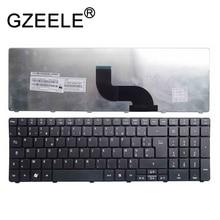 GZEELE новая клавиатура для ноутбука ACER Aspire 7560 7560g 7735 7735G 7735Z 5740Z 7736 7736Z 7738 7735 7735Z 7735ZG AZERTY черный