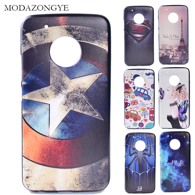 buy popular 564bc 0b0b7 US $3.11 |For Moto G5 Plus Cover Motorola Moto G5 Plus Back Cover Silicone  Phone Case For Motorola Moto G5 Plus 5.2 Cartoon TPU Soft-in Fitted Cases  ...