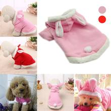 Fleece Warm Dogs Coat Pet Clothes Dog Cat Costume Puppy Rabbit Animals Suit Clothing Pet Supplies J2Y