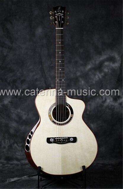 Merida Cupido mão artesanato em madeira maciça violão, Guitarra acustica, completo guitarra de madeira maciça