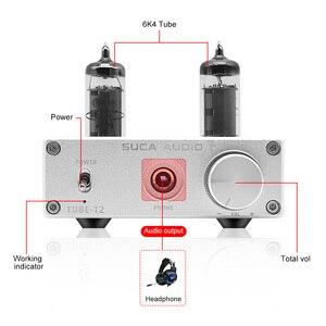 Image 3 - SUCA 6K4 أنبوب NE5532 المحمولة مضخم ضوت سماعات الأذن 6J1 الصوت أنبوب الصفراء سماعة Amplificador دي الصوت أمبير للهاتف الصوت