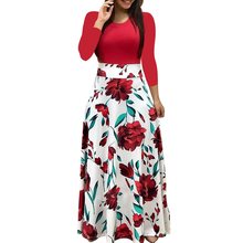 Autumn New Womens Clothing Black Beach Casual Party Bohemian Dress Retro Fashion Winter Slim Elegant Dresses Red