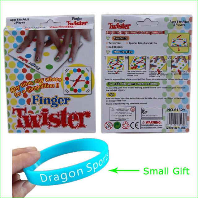 Portable Dedo Twister Juego De Mesa Para Ninos Adultos De La Familia