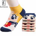 Anime Sailor Moon Sailormoon Women Girls Cute Cartoon Ankle Sock Spring and Autumn Casual Breathable Cotton Socks 6Styles