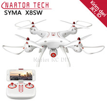 New Arrival SYMA RC Drone X8SW (X8HW Upgrade) with FPV Wifi Camera RC Helicopter Quadcopter