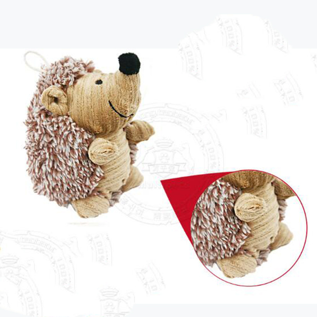 TOFOCO Cute Plush Hedgehog Toys Puppy Toys Sounding Plush Animals Children Gift!