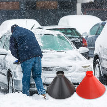 Car Windscreen Wipers Car accessories Cleaner-Cleaning Cone-Shaped Windshield Ice Scraper Snow Shovel Tools For Mazda 3 Toyota 4(China)