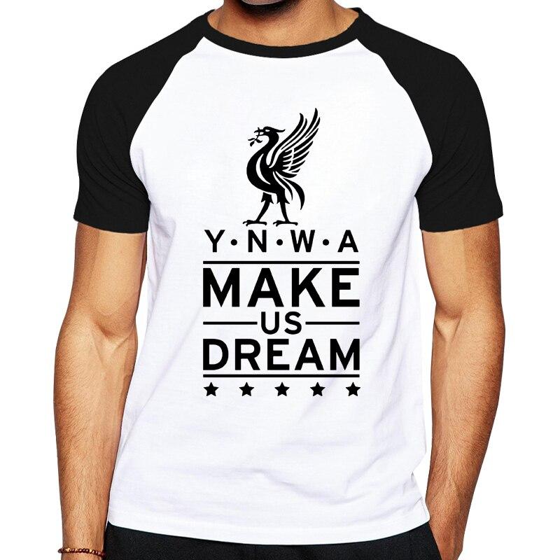Men' Liverpool Jersey Men'S Cotton Short Sleeve Tee Summer Popular T Shirts