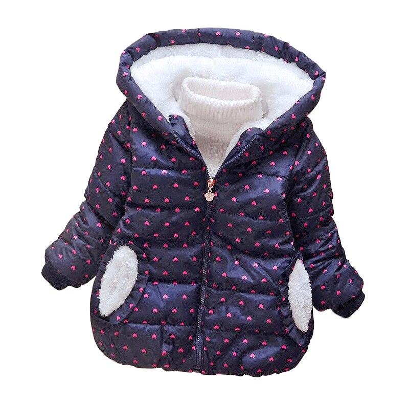 Новая зимняя куртка для девочек для маленьких мальчиков и девочек Пальто для будущих мам Утепленная одежда детская одежда теплая с капюшон...
