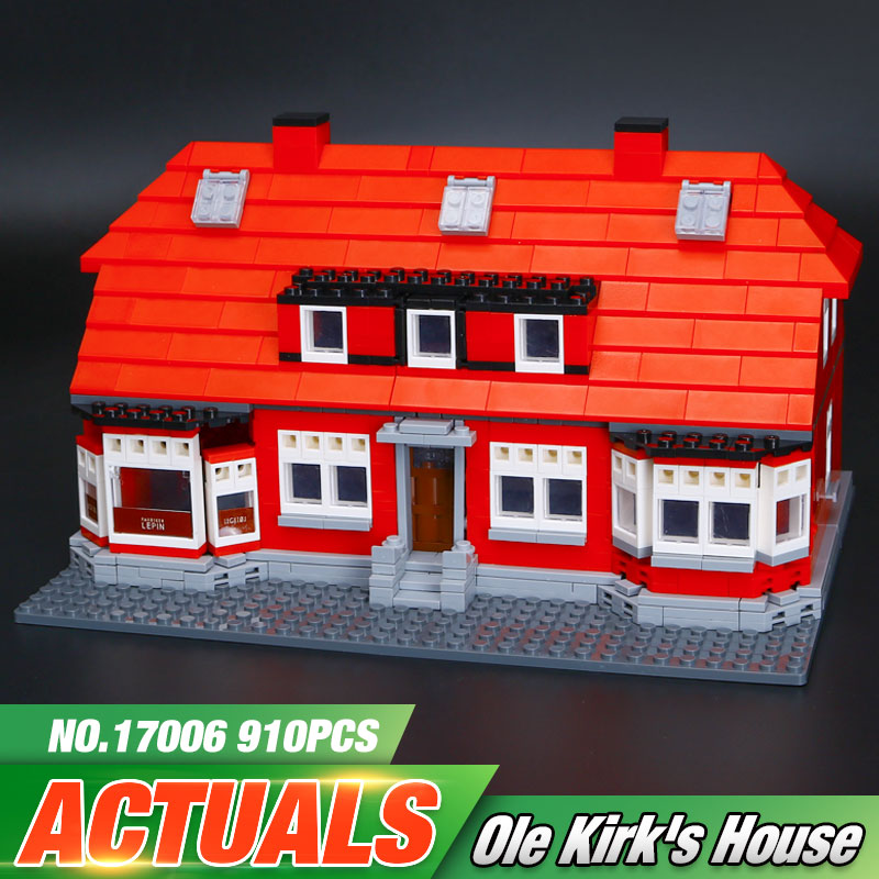 ФОТО New Lepin 17006 928Pcs Serier The Red House Set 4000007 Education Building Kits Blocks Bricks Model Children Toys Gift