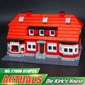 Nueva Lepin 17006 928 Unids Creador Serier La Casa Roja Set 4000007 Kits de Edificio de Educación Bloques Ladrillos Modelo Juguetes de Los Niños regalo
