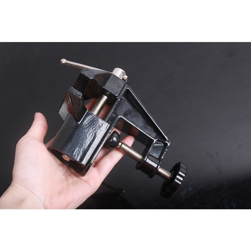 Multifunction Mini Table Vices Clamp-on Bench Vise Bench Vice DIY Work Power Tool Drill Clamp Woodworking Metal Bench Clamp chic chefs horizontal ceramic knife black 10cm blade