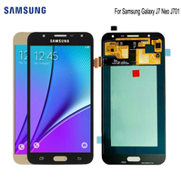 SUPER AMOLED For SAMSUNG Galaxy J7 Neo Display J701F J701M J701MT j701 LCD Digitzer Assembly Replacement Parts Display