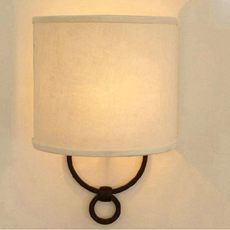 modern minimalist iron semicircle wall lamp bedroom bedside living room study fashion cloth creative wall lamps ZA622 ZL192 YM fashion stud wall lamp living room dining modern minimalist mirror front lamps bedroom bedside inn hotel clubs decorative lights