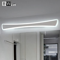 BWART Modern Anti fog proof LED mirror lights dressing table/toilet/bathroom mirror front lamp, AC85 265 0.4 1.2m 8 24W