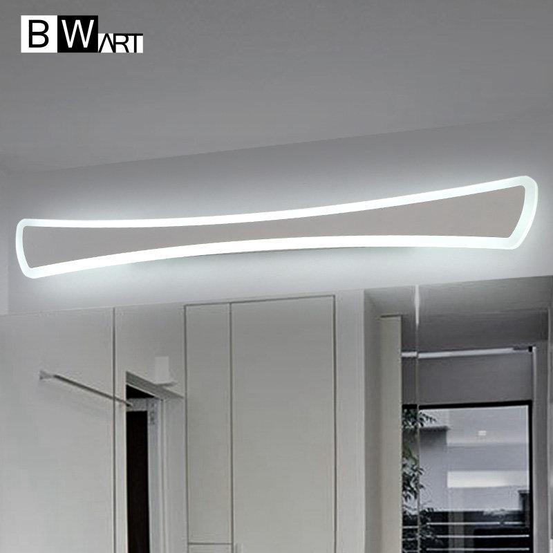 bwart moderna antiniebla a prueba de led luces de espejo de tocadoraseo