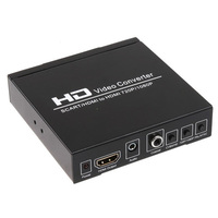 PLayvision SCART and HDMI to HDMI converter support DVD set top box HD player Game Console