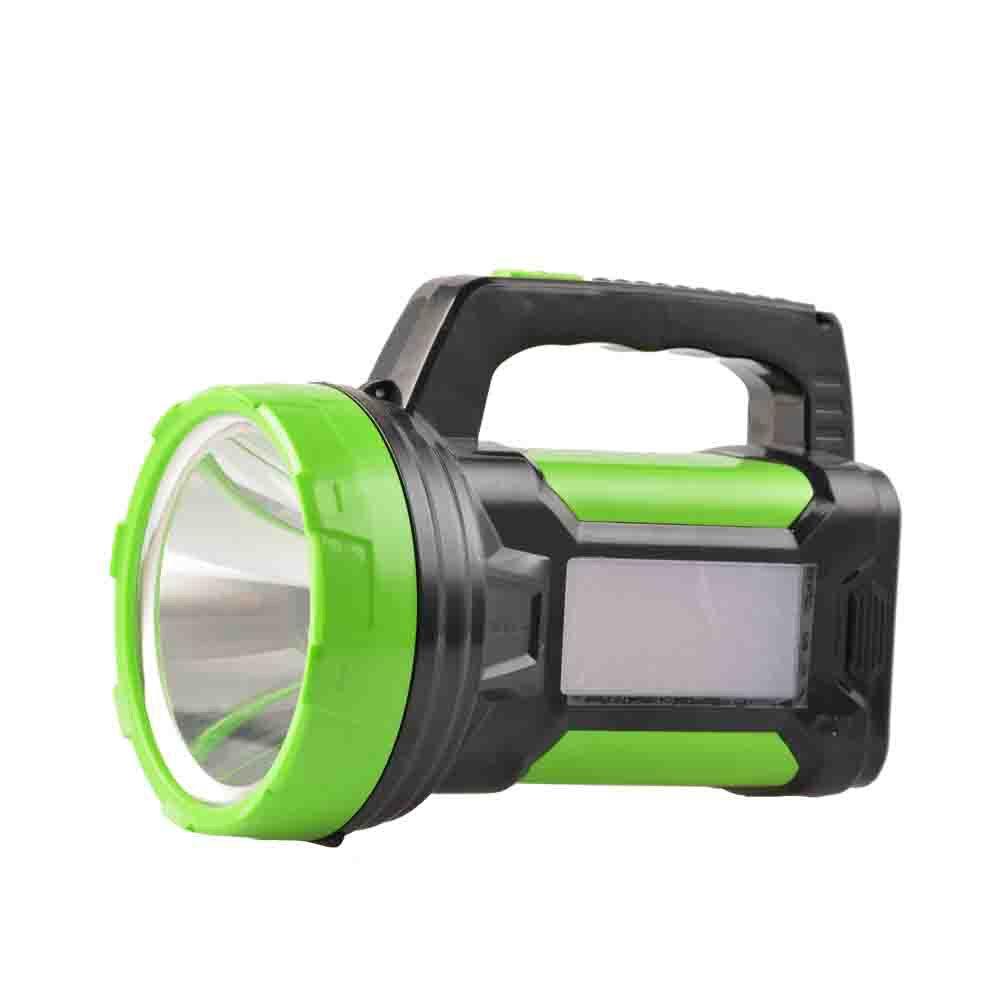 Di alta qualità ABS faro esterno di campeggio impermeabile della torcia elettrica di notte pattuglia portatile ricaricabile faro con luce di posizione
