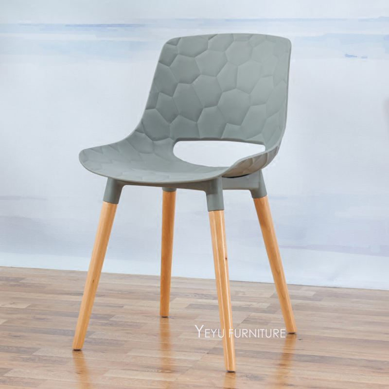 Minimalist Modern Design plastic PP and Solid Wooden Dining Chair  Fashion  loft design plastic andPopular Wooden Cafe Chairs Buy Cheap Wooden Cafe Chairs lots from  . Plastic Bistro Chairs Wholesale. Home Design Ideas