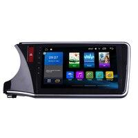 Octa Core 1024*600 Android 7.1 Car DVD GPS Navigation Player Deckless Car Stereo for Honda city 2015 2016 2017 Radio Headunit